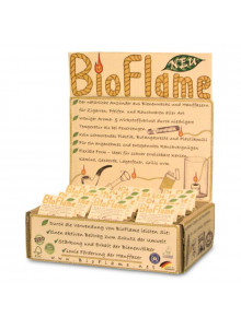 BioFlame aus Bienenwachs/Hanffaser 12er Pack