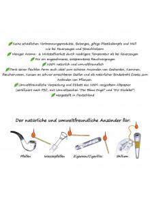 BioFlame - Hinweise vom Hersteller