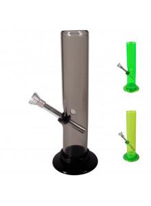 Bong Acryl (gerade) 20cm ⌀40mm Grau - Kickloch