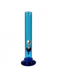 Bong Acryl (gerade) 20cm ⌀30mm -  Blau