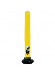 Bong Acryl (geknickt) 26cm ⌀30mm - Gelb