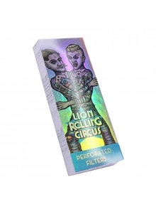 Lion Rolling Circus Silver Filter - 50 Tips for Booklet