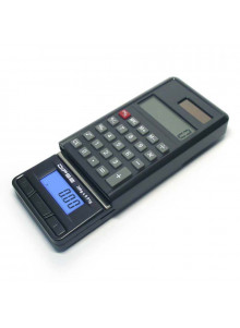 DIPSE CA 300 - Black - Solar Calculator and Digital Scale