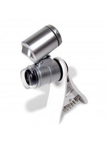 Mikroskop 60x LED mit Halterung