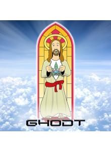 GHODT Bong GH19 mit Jesus Kirchenfenster-Design