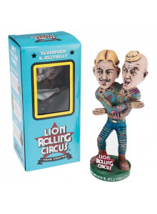 Lion Rolling Circus Bobblehead Doll - Silverfuck & Jellybelly - character
