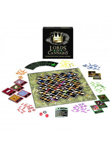Lords of Cannabis - board game - scope of delivery