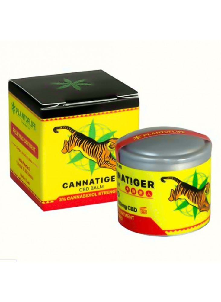 Cannatiger - CBD - Tiger balm 3% 5ml
