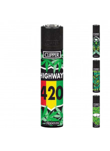 Clipper Girl Weed (4 Designs) - 420