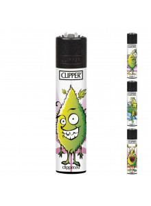 Clipper Happy Bud (4 Designs) - smiling