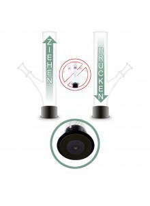 GHODT OTT-O Bong 1 GH22 35cm - suction cup