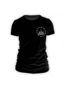GHODT T-Shirt logo - black - Female (S-XXL) - front view