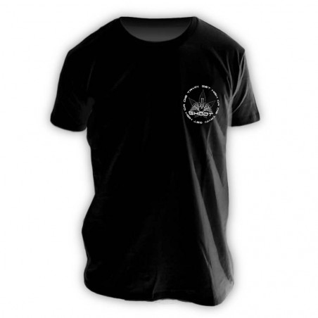 GHODT T-Shirt logo - black - Male (S-XXL) - front view