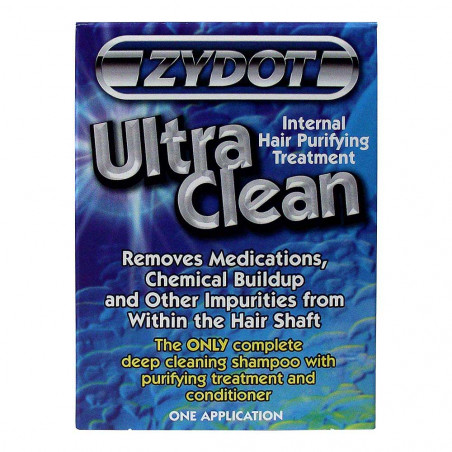 Zydot ultra clean shampoo - packaging front