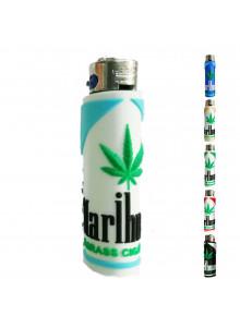 Atomic PVC Marihuana Feuerzeug - Türkis