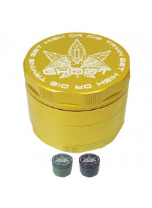 GHODT Ceramic Coated Grinder 63mm - Gold