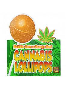 Dr. Greenlove cannabis lollipops Bubblegum & Orange Bud