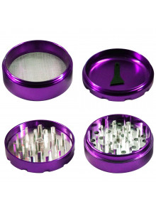 "GHODT ""FCK ALHT"" Pollinator Ø62mm Purple - Single parts."