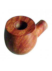 Ersatzkopf aus Briarholz für die Putter Pipe.