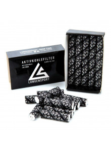 Lungensport Activated Carbon Filters - 20 Pieces (Ø 7mm)