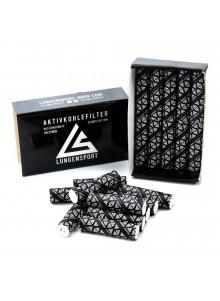 Lungensport Aktivkohlefilter - 20 Stück (Ø 7mm)