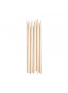 Personal size Bamboo skewers for Cannagar