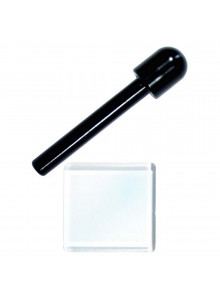Sniff Set - Black tube with glass plate