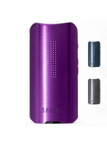 DaVinci IQ2 Vaporizer Amethyst - Auch in Kobalt und Graphit erhältlich