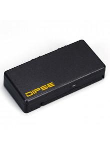 DIPSE Dab Scale - Durch den Klappdeckel wird der Inhalt geschützt.