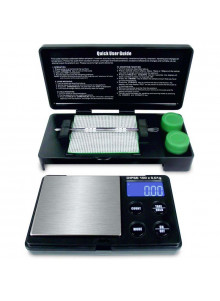 DIPSE Dab Scale - Mit Dabbing Matte, Poker, Silicone Cups und 100 x 0,01g Digitalwaage.