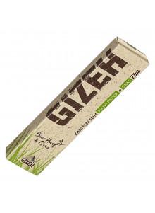 GIZEH Hanf + Gras King Size Slim mit Tips - 34 Blatt und 34 Tips.