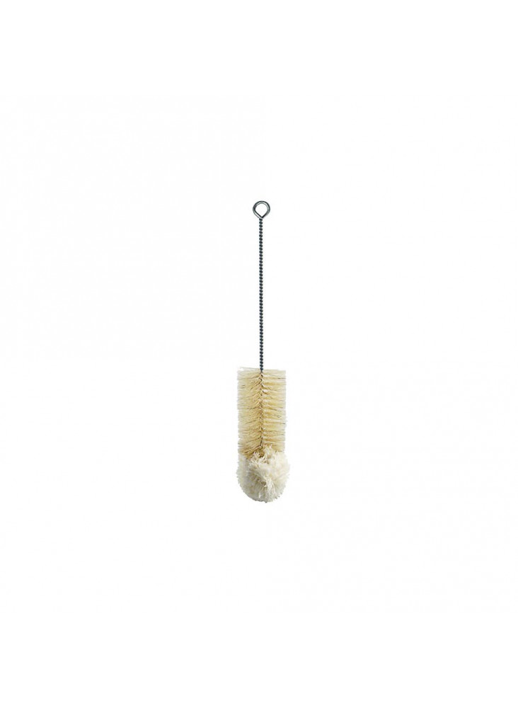 Bottle brush with wool head - 35cm
