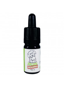 CBD Cure Dog Care - Bacon Drops 10ml - Front