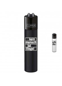 Clipper Kein Mensch ist illegal - Black