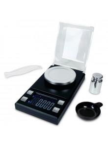 DIPSE Juwelierwaage EXACT 50 - Inklusive Waagschale, Justiergewicht und Pinzette.