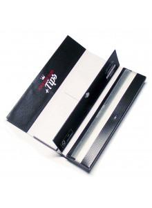 GIZEH Black King Size Slim + Tips - 34 Papers und Tips. Booklet mit Magnetverschluss