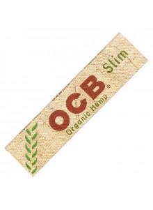 OCB Organic Hemp Slim - Booklet mit 32 Blättchen