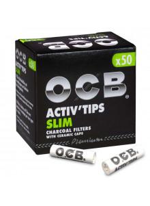 OCB Activ Tips Slim (50Stück) - Durchmesser 7mm