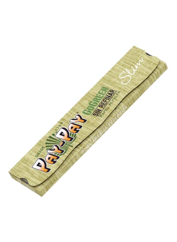 Pay-Pay GoGreen Slim - 32 Blättchen aus ökologischer Alfalfa Faser
