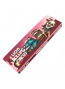 Lion Rolling Circus Flavored Papers - Cherry Baby - 33 aromatisierte Blättchen mit Kirschgeschmack.
