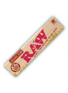 RAW Organic Hemp King Size Slim - 32 Papers aus Bio-Hanf