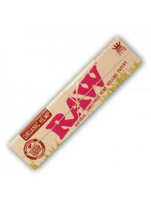 RAW Organic Hemp King Size Slim - 32 Papers aus Bio-Hanf