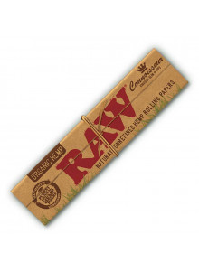 RAW Organic Hemp Connoisseur King Size Slim - Booklet