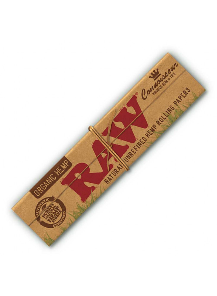 RAW Organic Hemp Connoisseur King Size Slim - Booklet