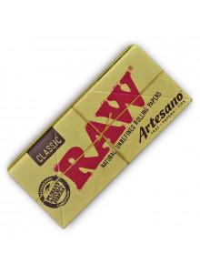 RAW Classic Artesano King Size Slim Papers - Heftchen