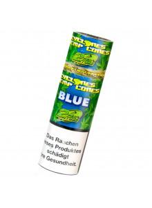 Cyclones Hemp Cones Blue - Zwei aromatisierte Blunts pro Packung.