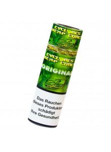 Cyclones Hemp Cones Original - Zwei aromatisierte Blunts pro Packung.