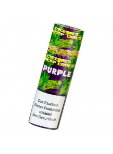 Cyclones Hemp Cones Purple - Zwei aromatisierte Blunts pro Packung.