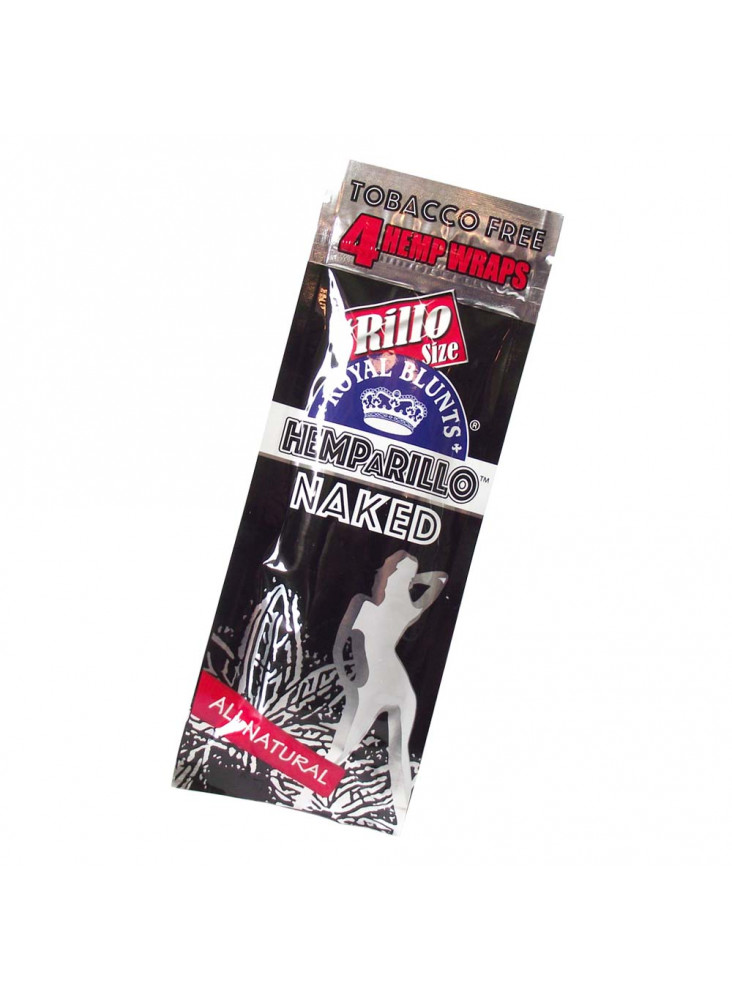 Royal Blunts Hemparillo Naked - Hemp Wraps mit Hanfgeschmack ohne Aroma
