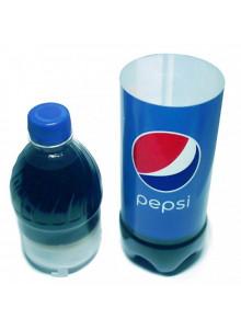 Pepsi Stash - Original Colaflasche mit mit abnehmbarem Oberteil und Stauraum.